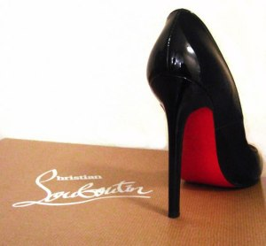If a shoe is going to drop, please let it be a Louboutin.
