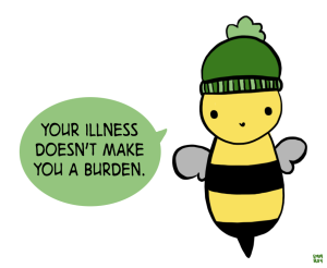 You're not a burden