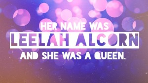 Leelah Alcorn Queen